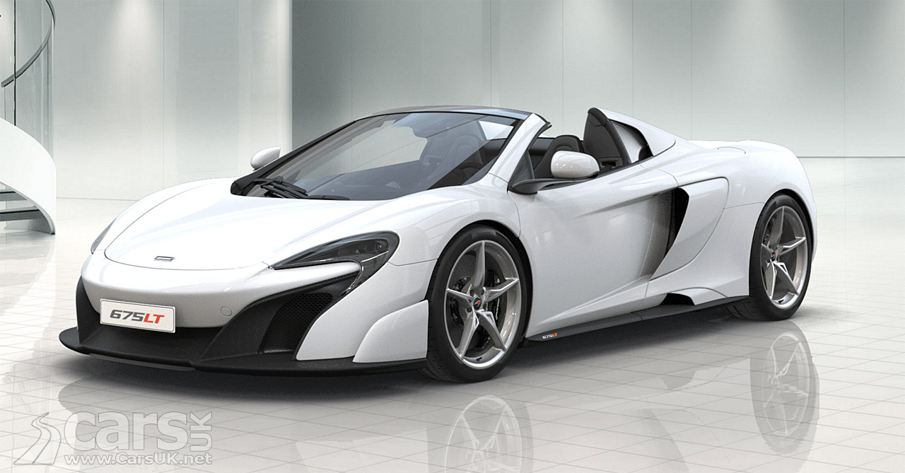 Mclaren 675lt Spider Configurator Goes Live Cars Uk