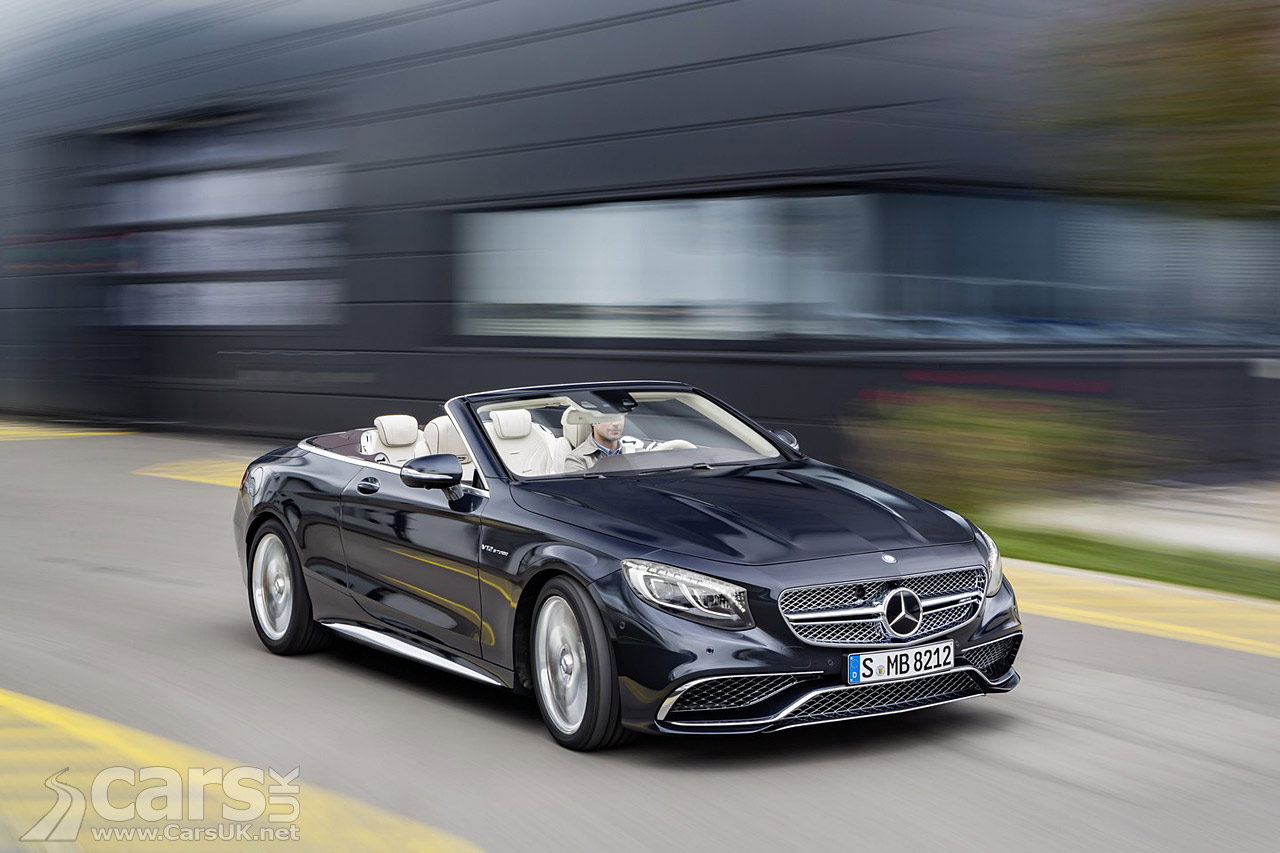 Mercedes amg s65 cabriolet the range topping s class for Mercedes benz amg range