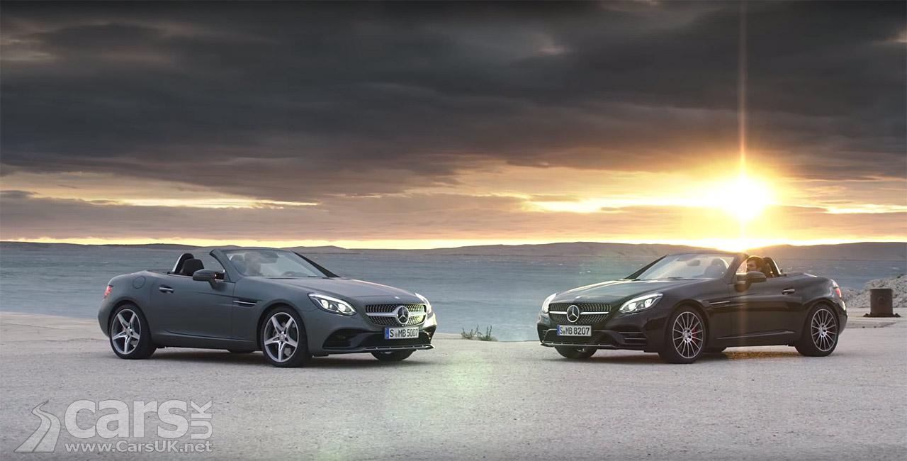 new mercedes benz slc promotion video arrives cars uk. Black Bedroom Furniture Sets. Home Design Ideas