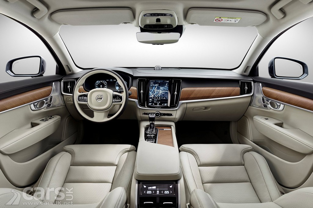 New Volvo S90 INTERIOR detailed