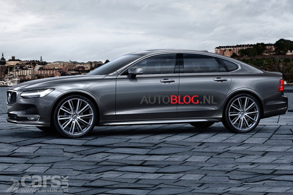 new volvo s90 leaks out ahead of today 39 s reveal cars uk. Black Bedroom Furniture Sets. Home Design Ideas