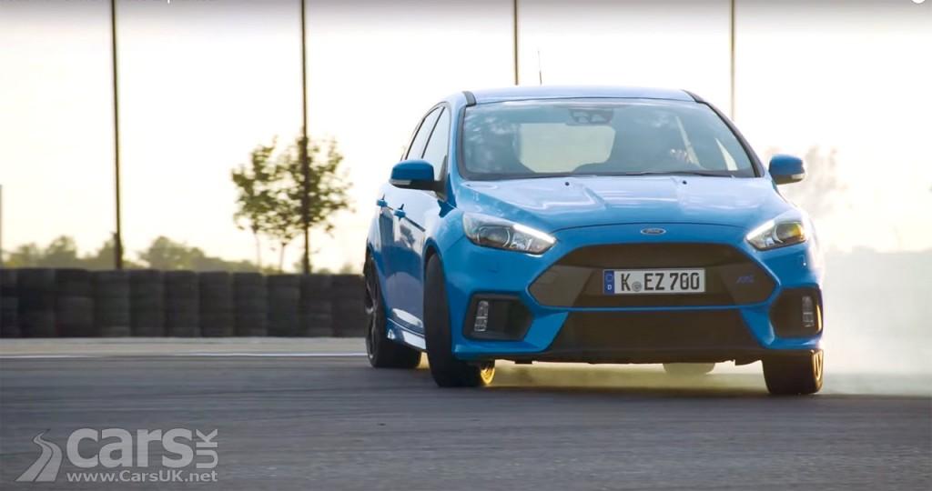 Photo 2016 Ford Focus RS Drift Mode