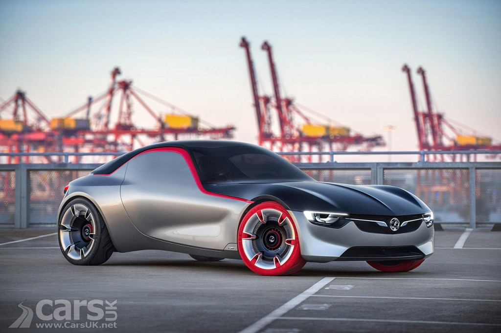 photo Vauxhall GT Concept revealed