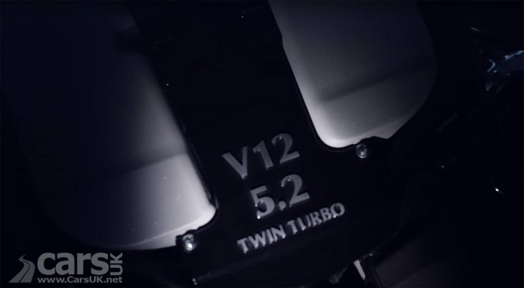 Photo New Aston Martin 5.2 litre V12 Twin Turbo engine