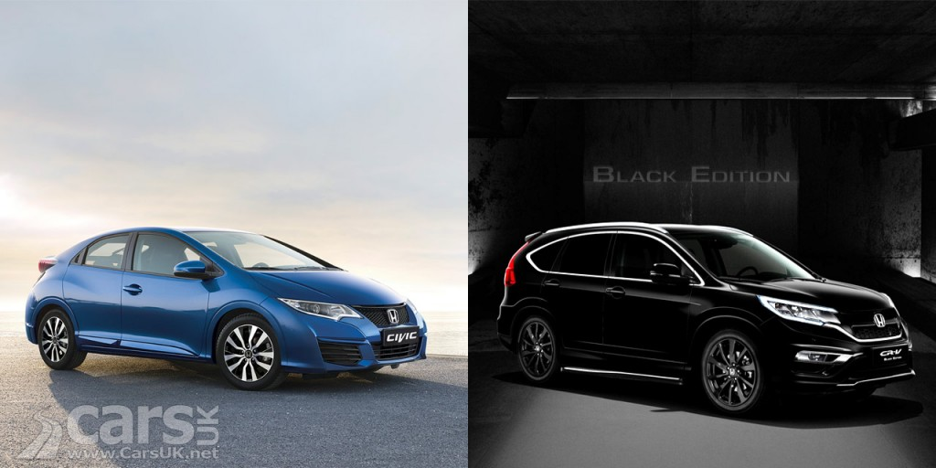 Honda Civic Limited Edition and CRV Black Edition launch in the