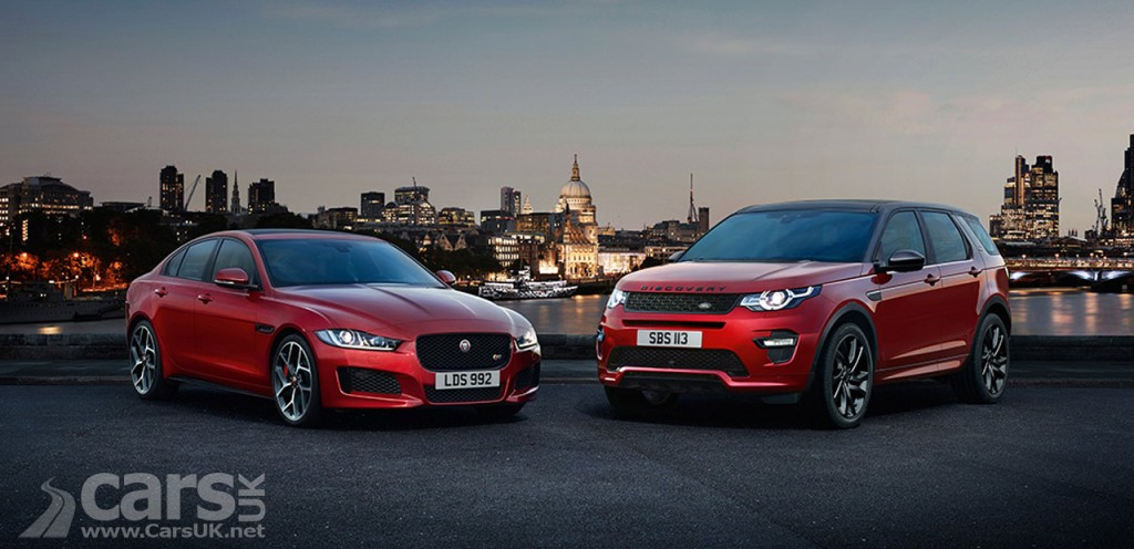 Photo Jaguar XE and Land Rover Discovery Sport