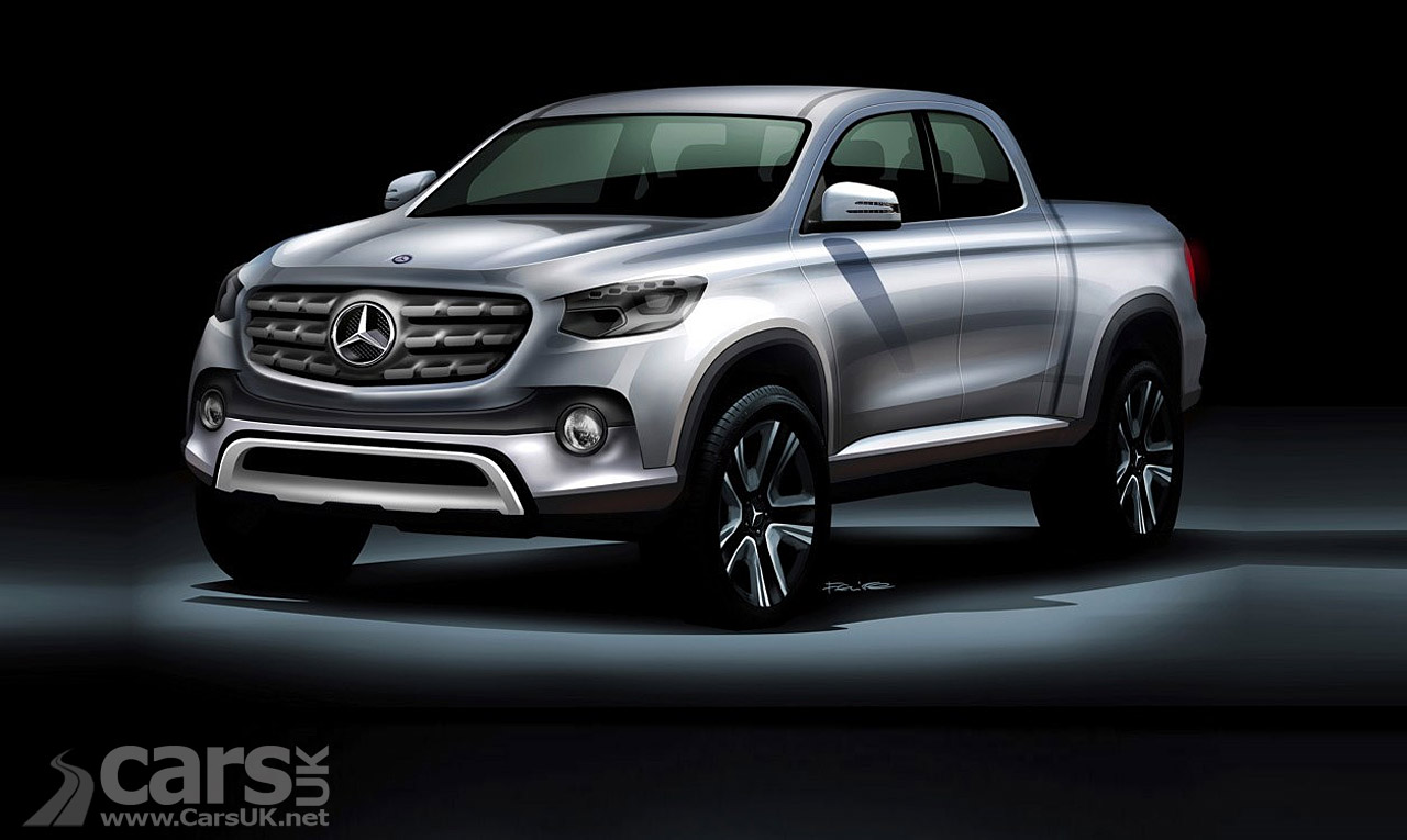 new mercedes pickup will be the mercedes x class or maybe z class cars uk. Black Bedroom Furniture Sets. Home Design Ideas