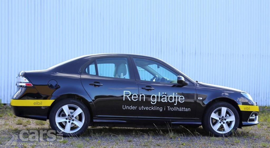 Photo Saab 9-3 EV