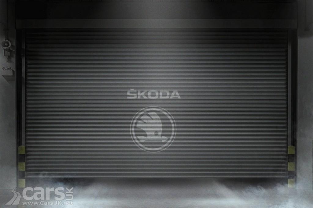 Photo Skoda Kodiak SUV Tease