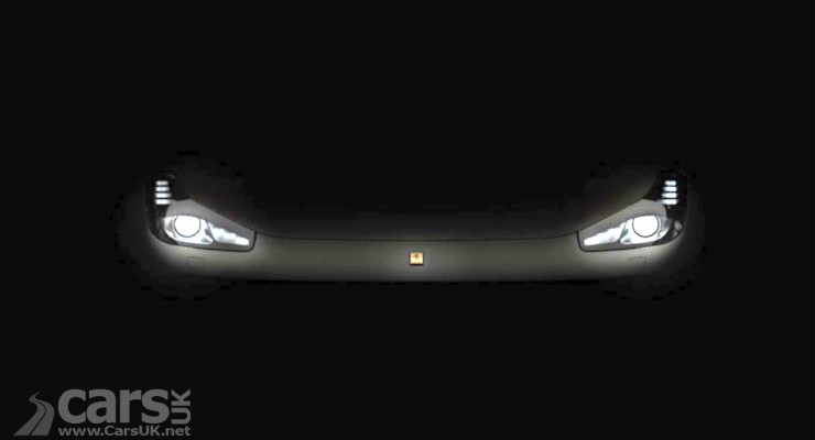 Photo 2016 Ferrari FF Facelift tease