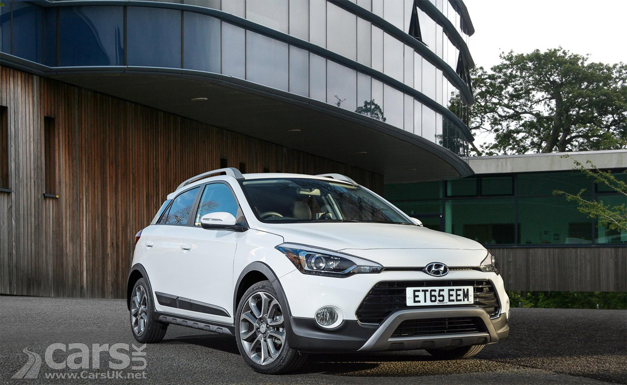 hyundai i20 active costs from 15 225 i20 range updated for 2016 cars uk. Black Bedroom Furniture Sets. Home Design Ideas