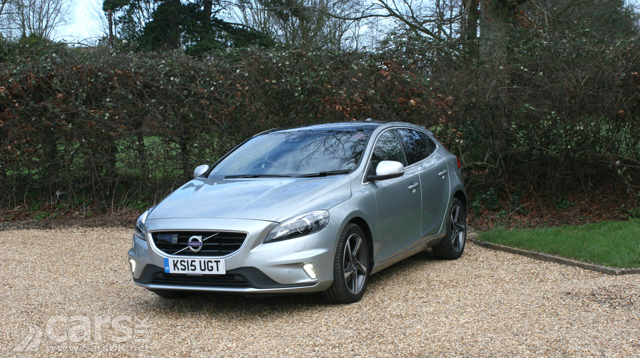 volvo v40 d2 r design lux nav review 2016 cars uk. Black Bedroom Furniture Sets. Home Design Ideas