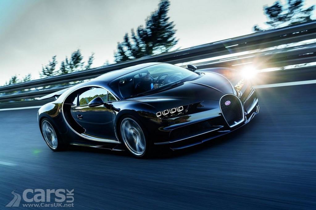 Photo New Bugatti Chiron