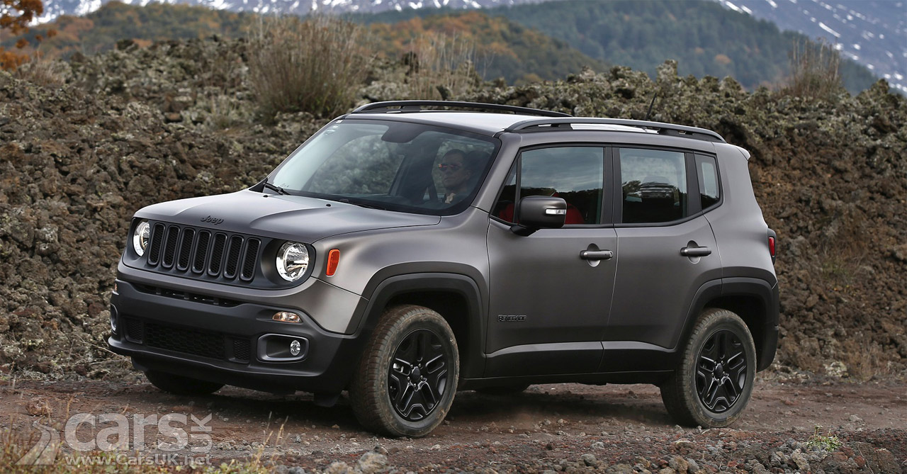 jeep renegade night eagle limited edition arrives in the uk price from 21 595 cars uk. Black Bedroom Furniture Sets. Home Design Ideas