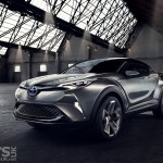 Toyota C-HR Crossover to debut in production guise at Geneva
