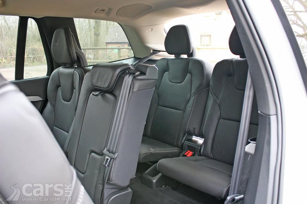 Photo 2016 Volvo XC90 interior rear