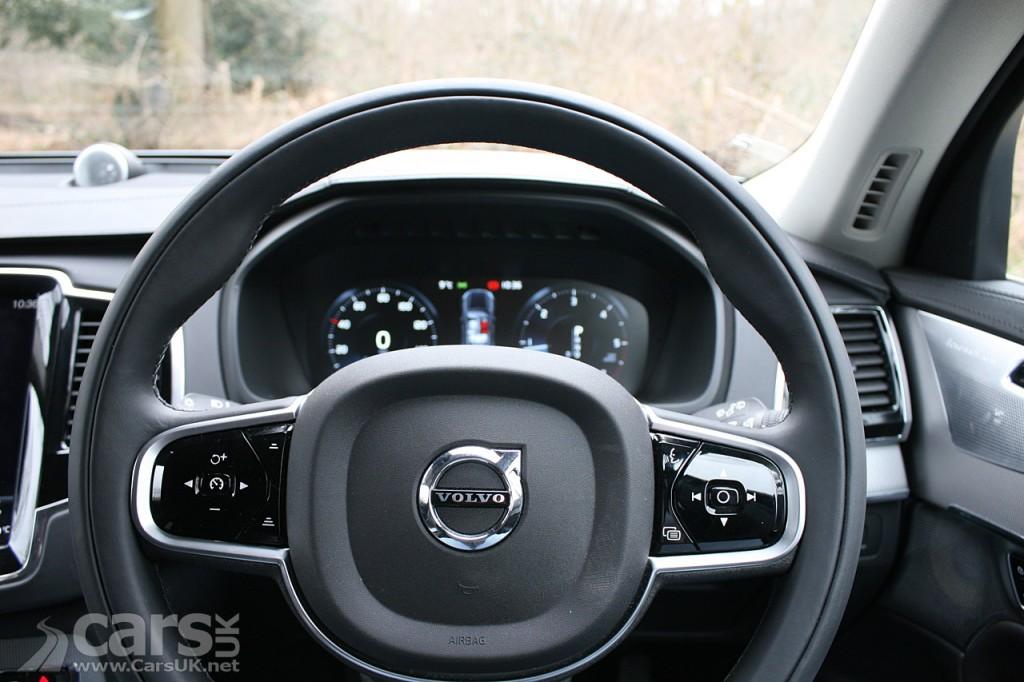 Photo 2016 Volvo XC90 driver view