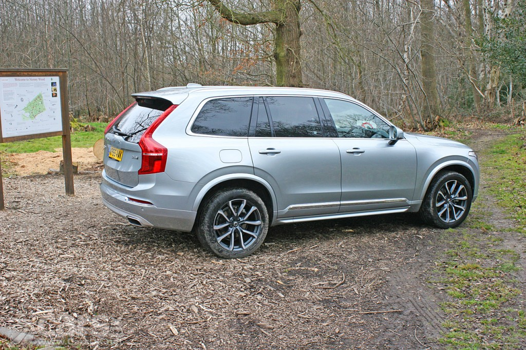 Photo 2016 Volvo XC90 review rear view