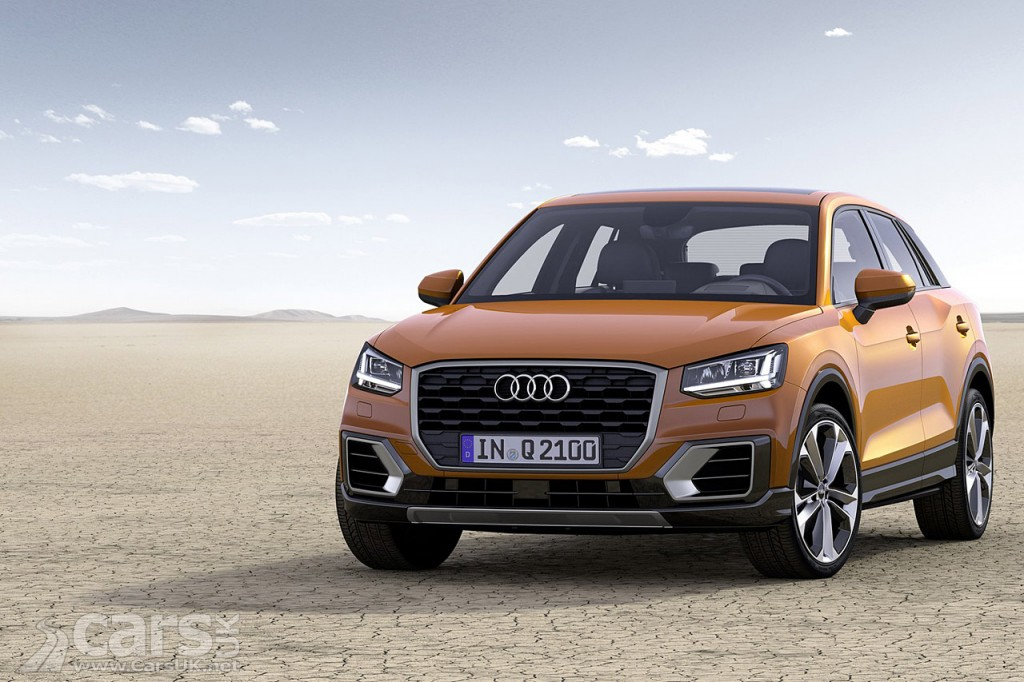 audi q2 joins the q3 q5 q7 as audi 39 s 39 baby 39 suv cars uk. Black Bedroom Furniture Sets. Home Design Ideas