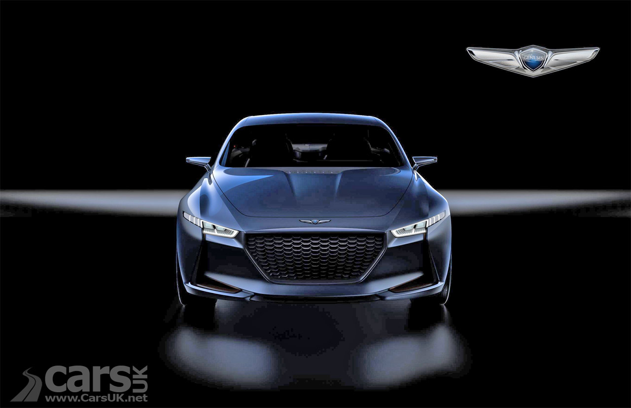 hyundai 39 s genesis new york concept previews bmw 3 series rivalling g70 video cars uk. Black Bedroom Furniture Sets. Home Design Ideas