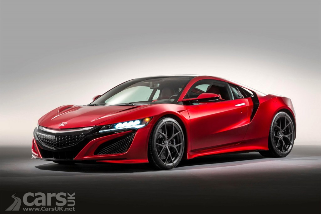 New Honda Nsx Uk Pricing Announced Costs 130 000 Cars Uk