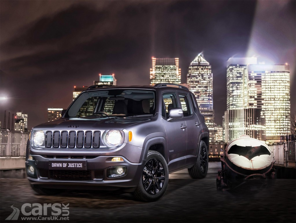 Photo Jeep Renegade Dawn of Justice