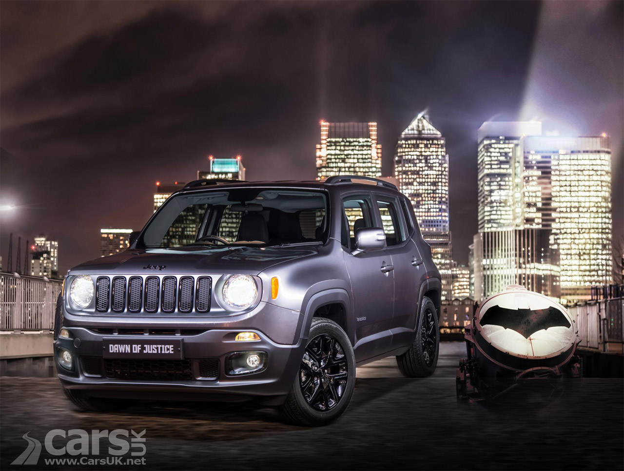 New Jeep Renegade >> Jeep Renegade Dawn of Justice arrives to cash-in on Batman ...