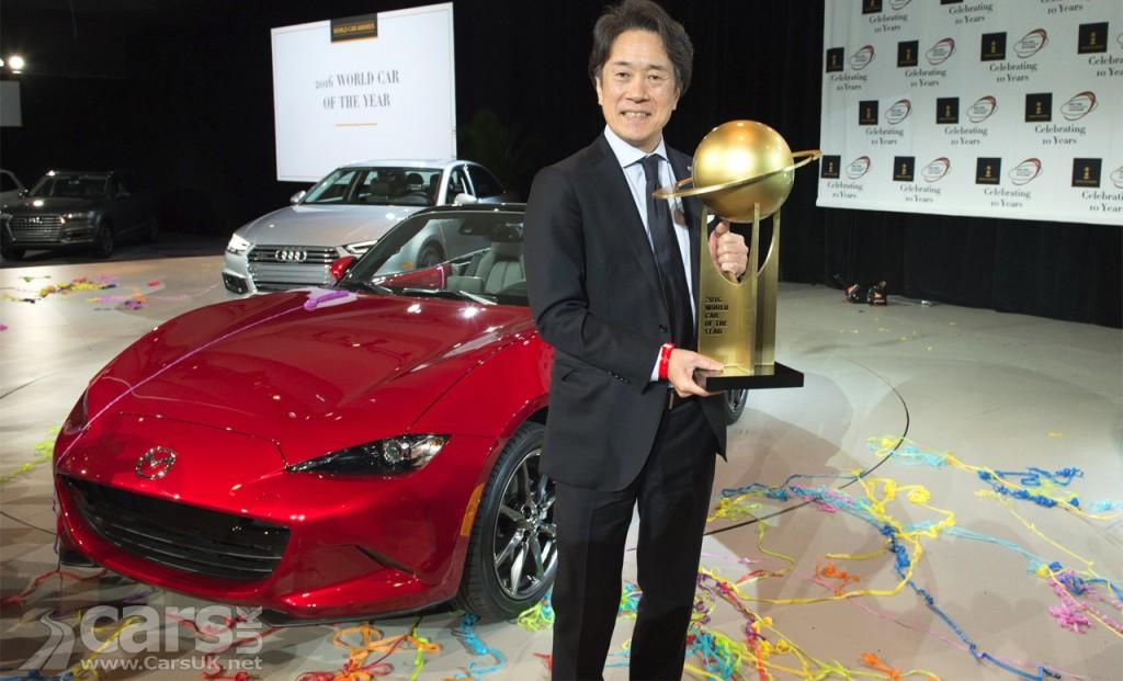 Japan's Mazda MX-5 wins 2016 World Car of Year award