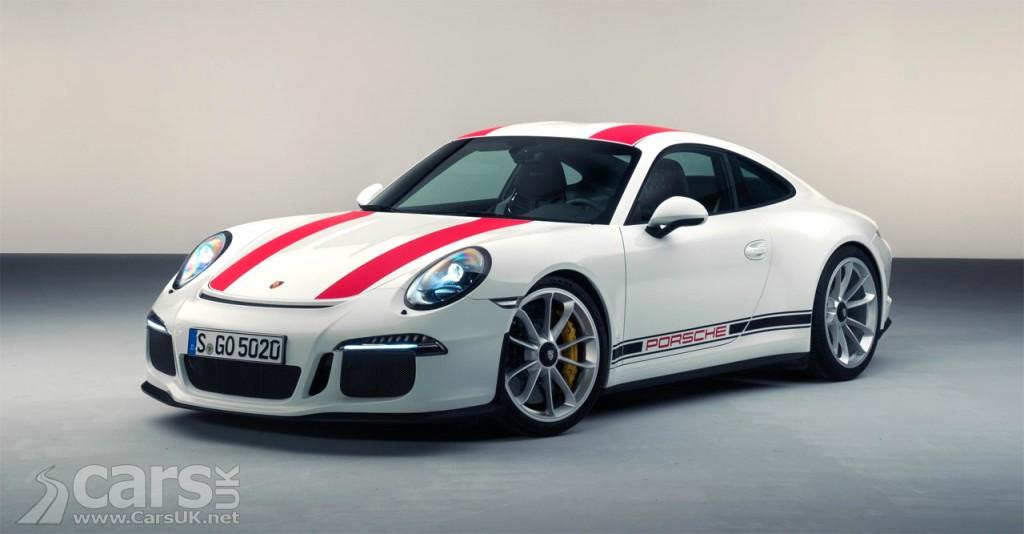 Photo New Porsche 911 R