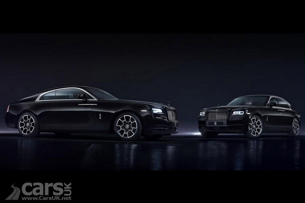 Photo Rolls-Royce Black Badge Ghost and Wraith