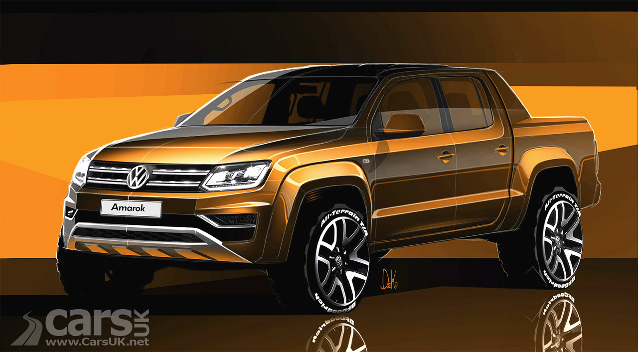 new volkswagen amarok pick up previewed arrives in the. Black Bedroom Furniture Sets. Home Design Ideas