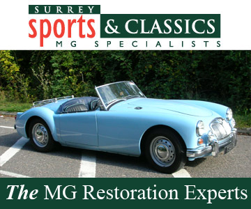 Surrey Sports & Classics MG Restoration
