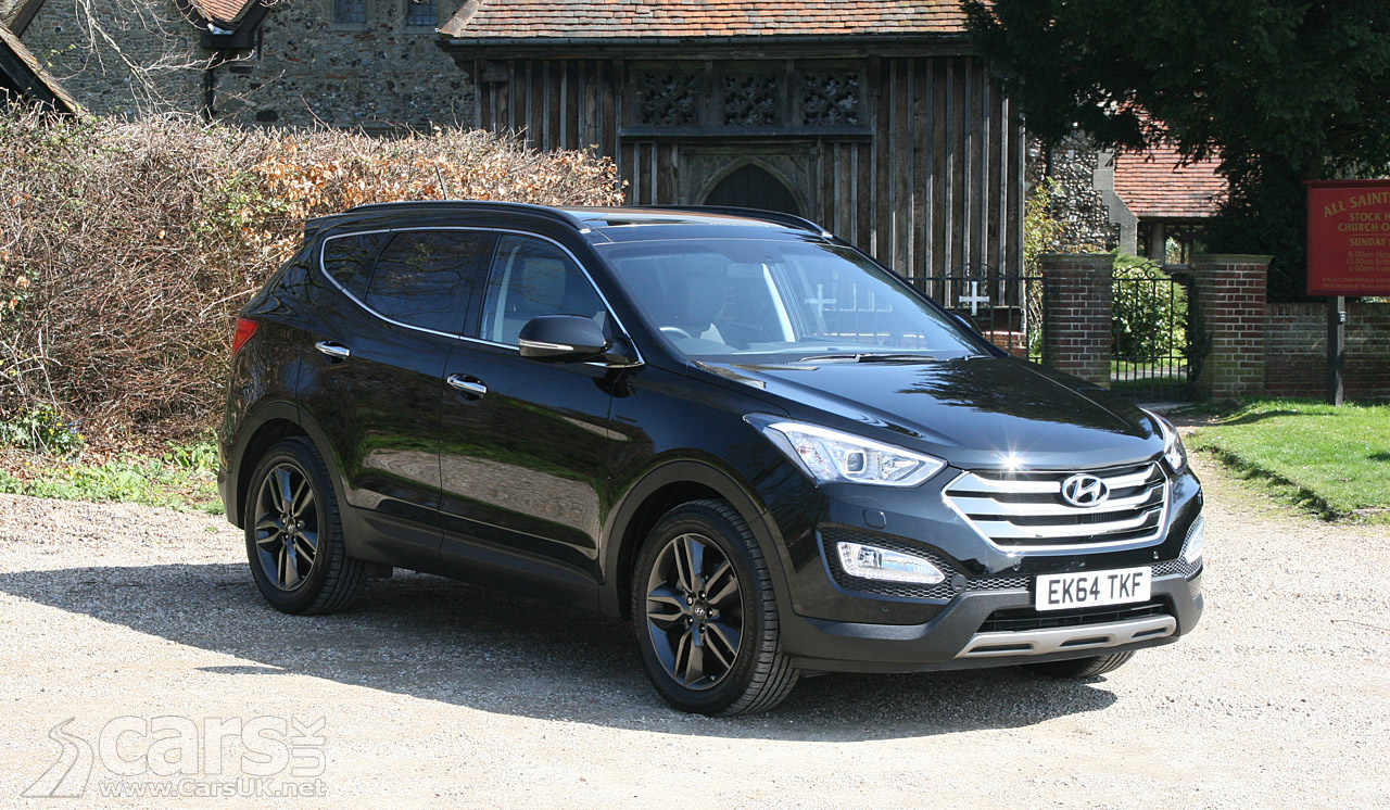 hyundai santa fe premium se review 2015 cars uk. Black Bedroom Furniture Sets. Home Design Ideas