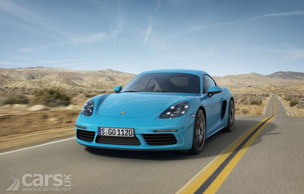 Porsche 718-ifies Cayman, Cayman S