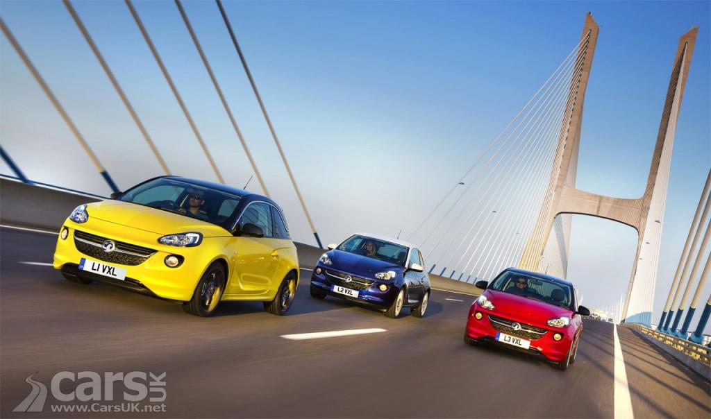 Photo Vauxhall ADAM & ADAM ROCKS Unlimited