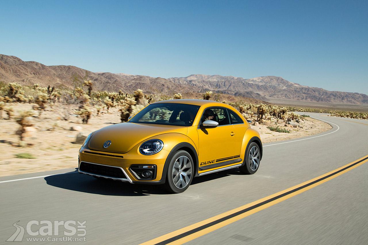 Cars For Sale In Detroit >> VW Beetle DUNE - Volkswagen's 'off-road' Beetle - on sale ...