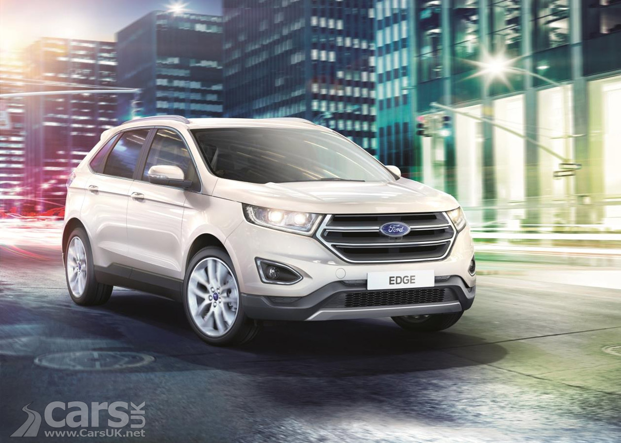 new ford edge suv looks set to be a big hit in the uk as production starts cars uk. Black Bedroom Furniture Sets. Home Design Ideas