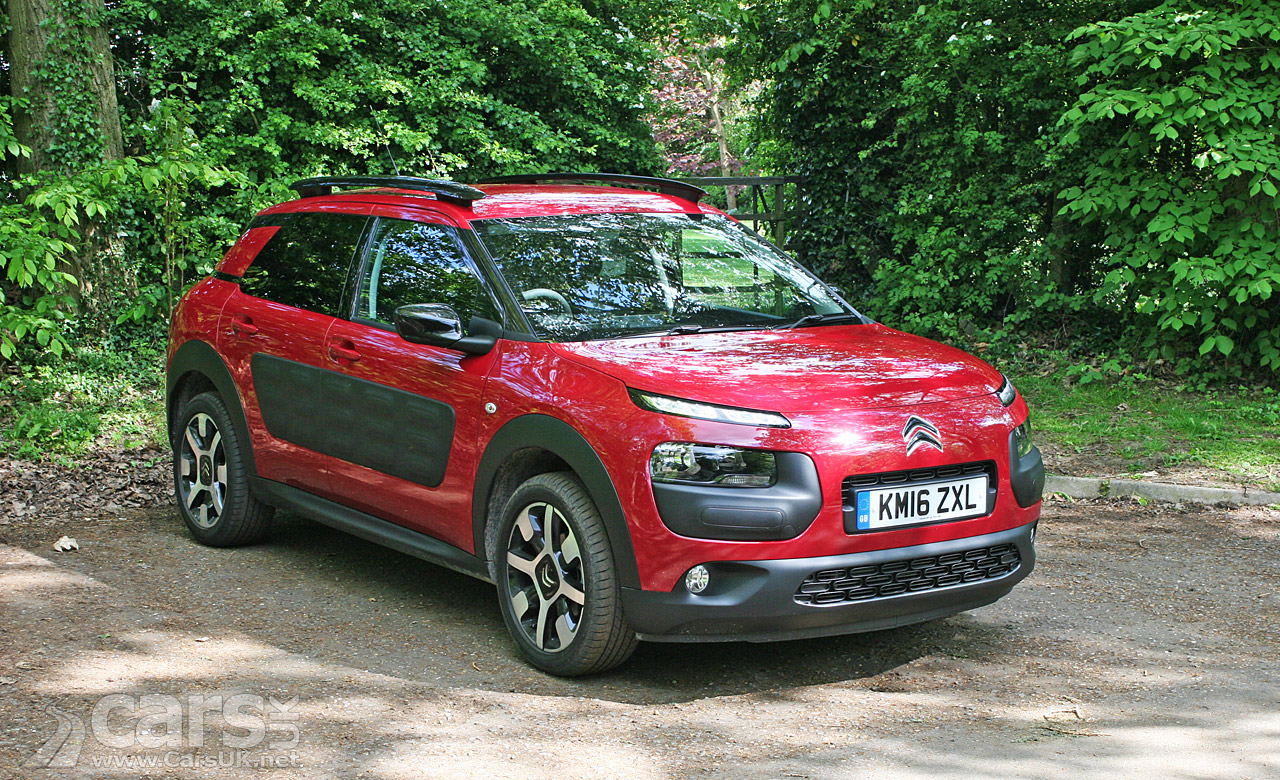 citroen c4 cactus flair blue hdi 100 review 2016 cars uk. Black Bedroom Furniture Sets. Home Design Ideas