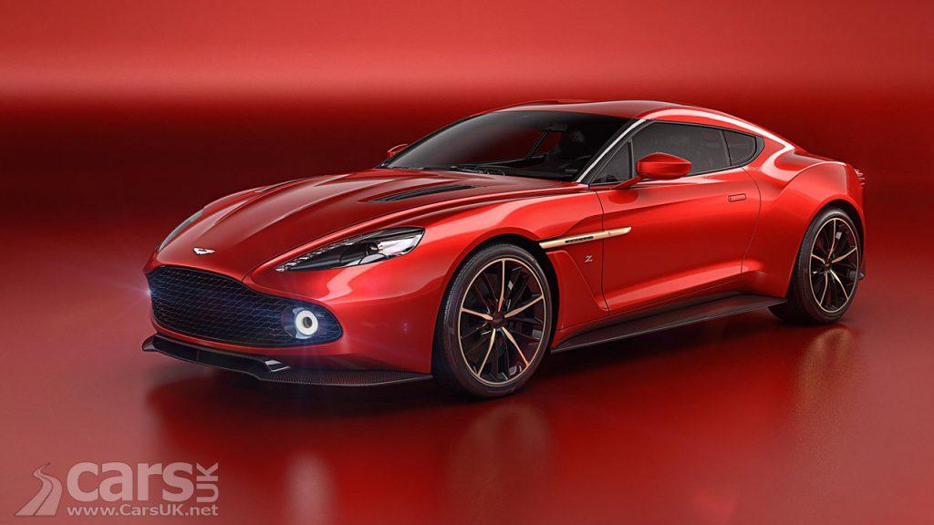 Photo Aston Martin Vanquish Zagato Concept