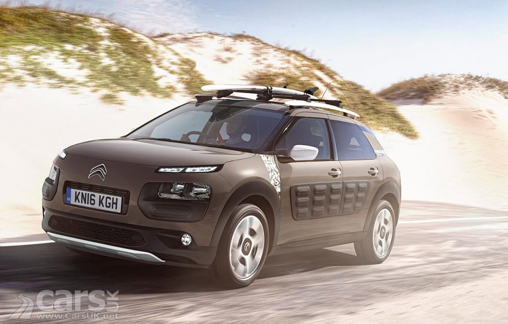 citroen c4 cactus rip curl a cactus for the dudes costs from 18 480 cars uk. Black Bedroom Furniture Sets. Home Design Ideas