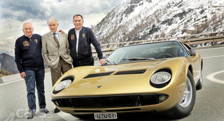 Photo Lamborghini Miura returns to the Italian Job