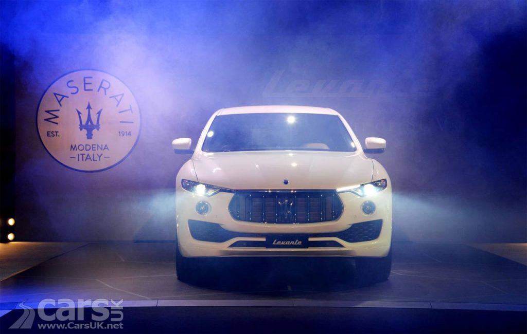 Photo Maserati Levante SUV debuts in the UK