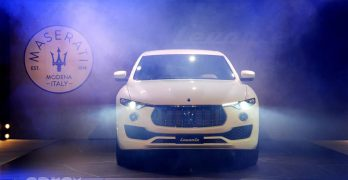 Maserati Levante SUV debuts in the UK. On sale June from £54,335