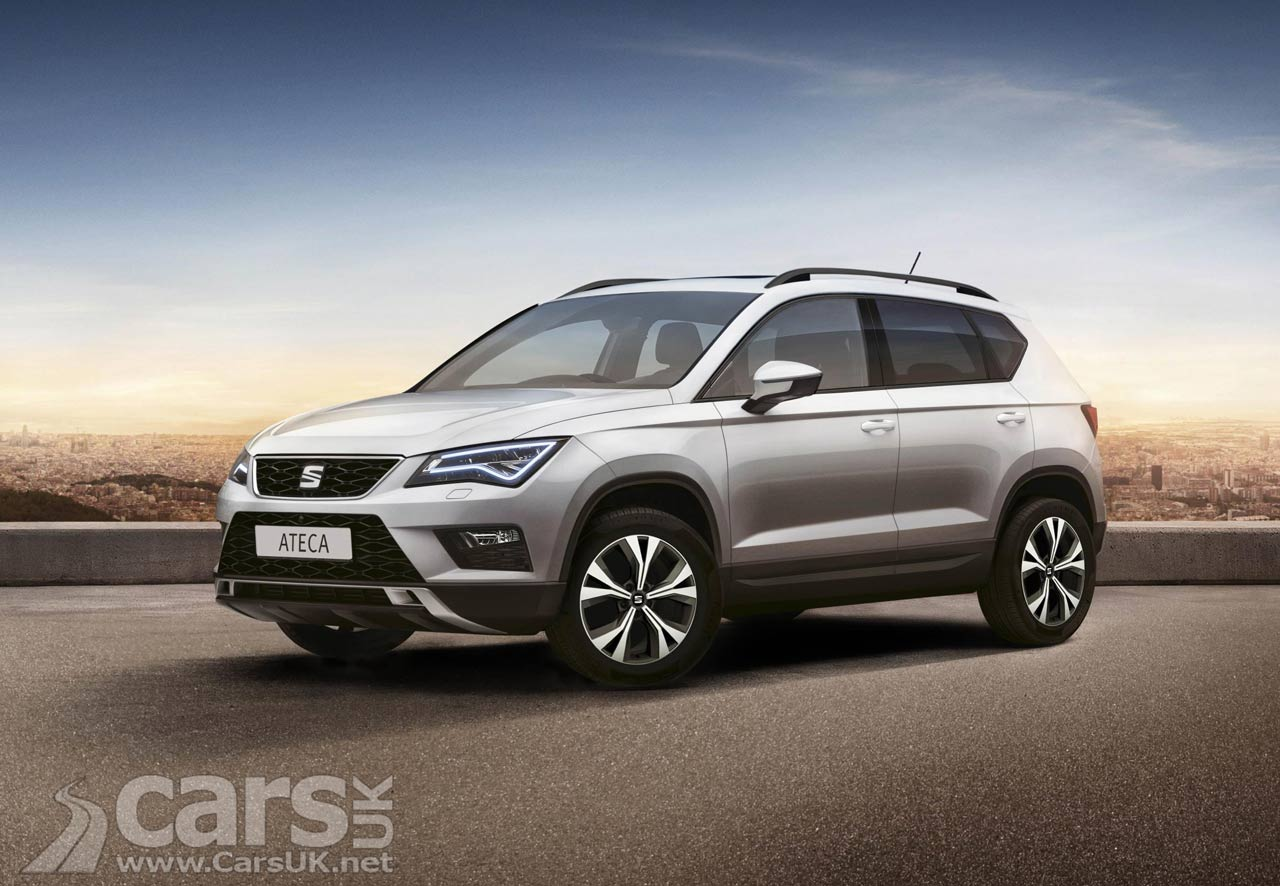 seat ateca suv first edition just 200 for the uk from 21 995 cars uk. Black Bedroom Furniture Sets. Home Design Ideas