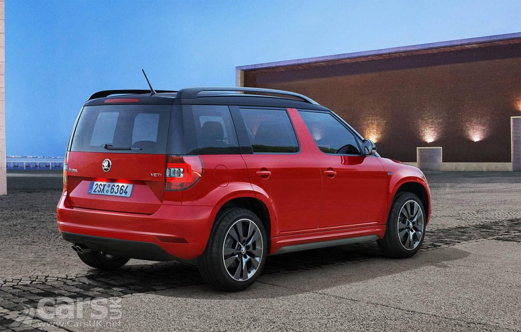skoda yeti monte carlo gets new engine options and lower starting price costs from 19 700. Black Bedroom Furniture Sets. Home Design Ideas