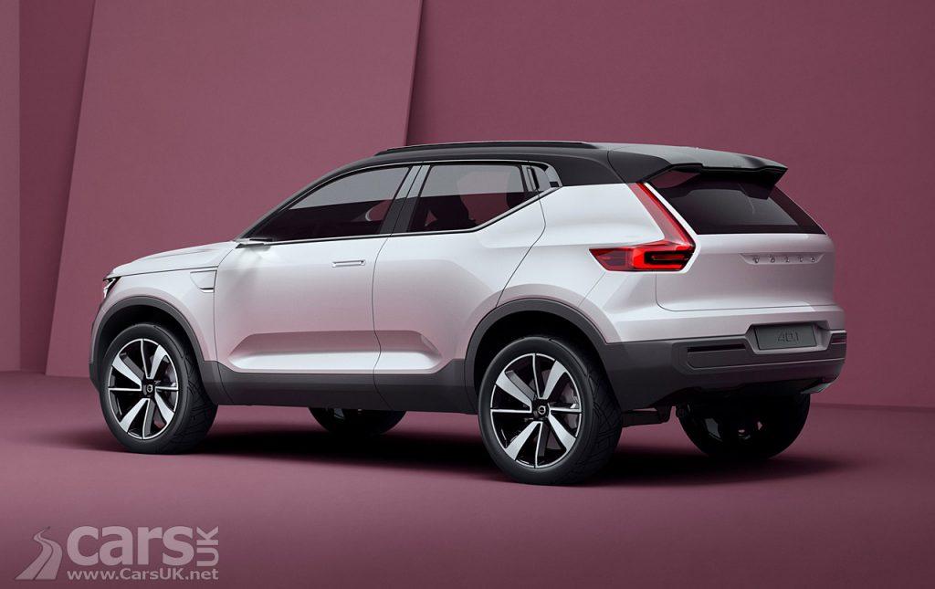 Photo New Volvo XC40 40.1 Concept