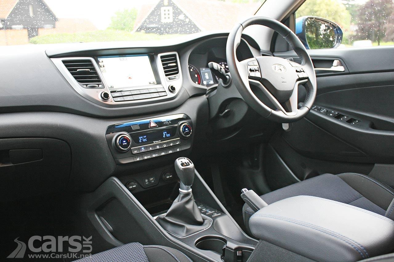 Photo 2016 Hyundai Tucson SE Nav interior
