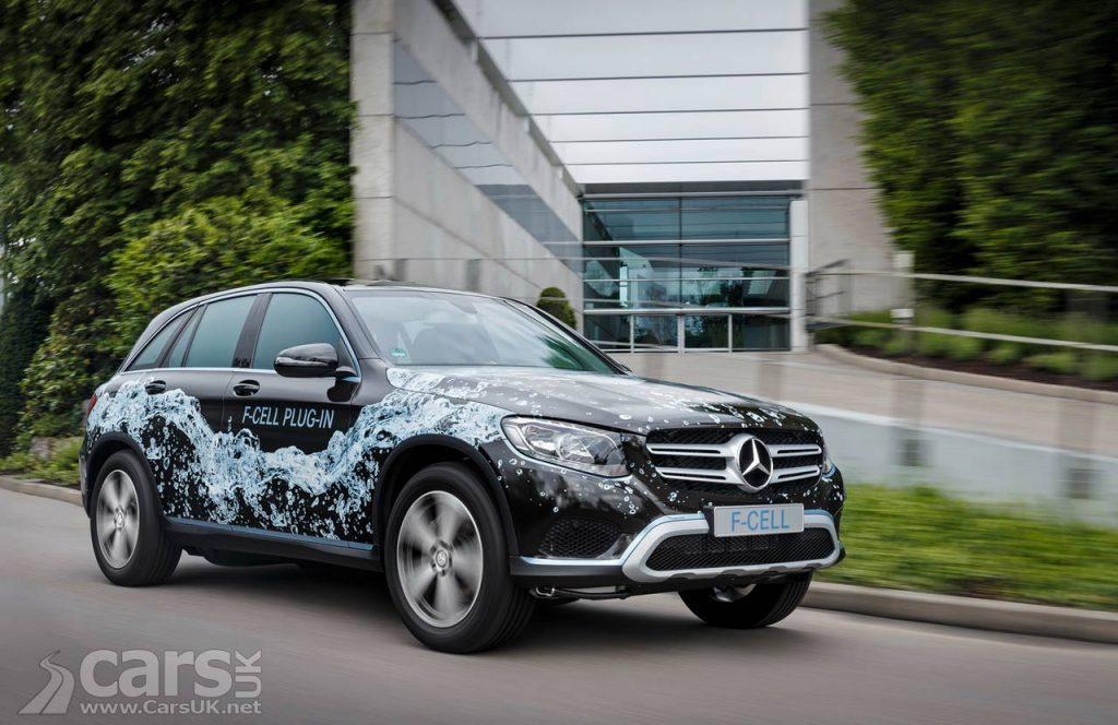 Photo 2017 Mercedes GLC F-Cell Plug-in Hybrid