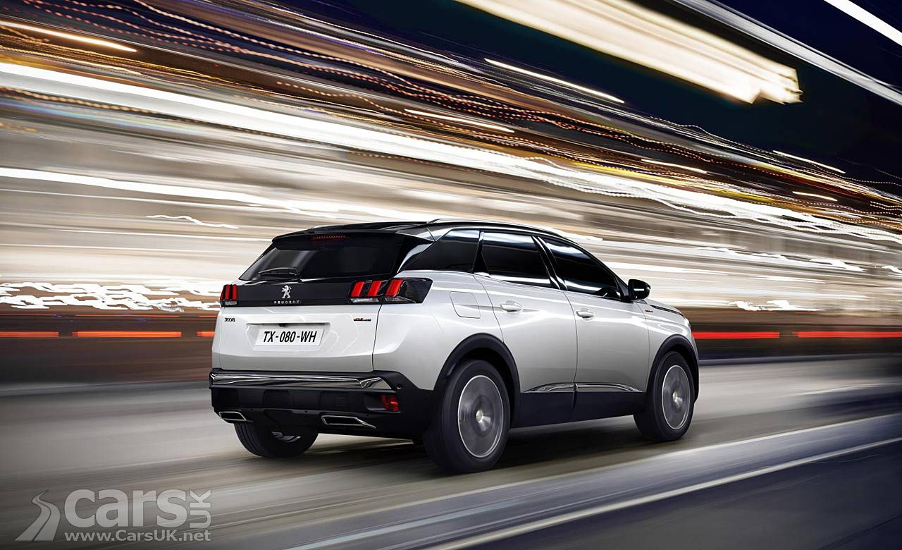 2017 peugeot 3008 suv gt arrives to top the range and. Black Bedroom Furniture Sets. Home Design Ideas