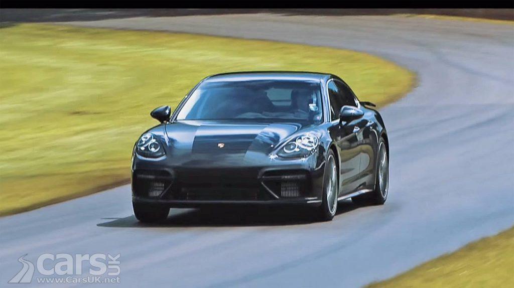 Photo NEW Porsche Panamera hits the Goodwood hillclimb